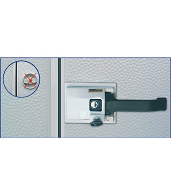 HEOSafe replacement lock, POS exterior lock with HEOSafe door