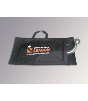 Bag for detachable towbar