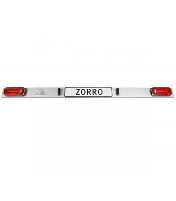 LED lightboard Zorro scooter carrier