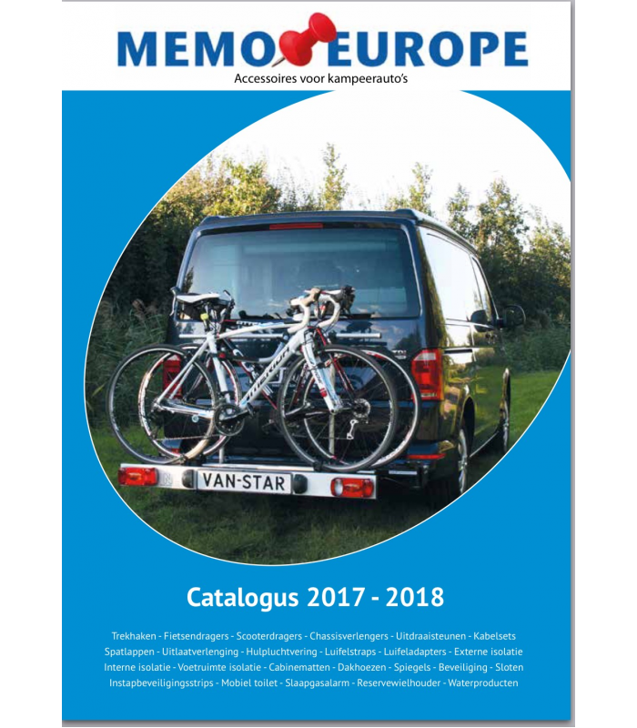 Catalogus Memo Camperproducten 2017-2018