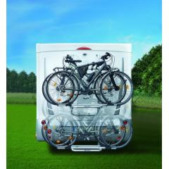 Bike carrier wall fitting
