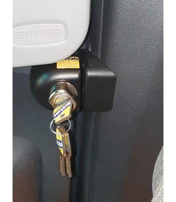 Heosafe lock Mercedes Sprinter (2018-) lockable