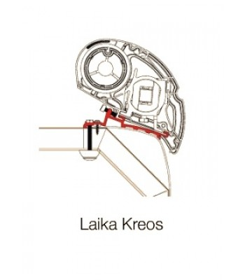 Adapter Dometic PR4500 Laika Kreos (roof mounted)