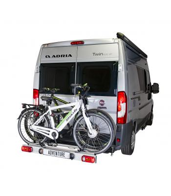 Van-Star Adventure, swing away bike carrier for van conversions
