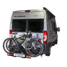 Van-Star E-Cross, swing away bike carrier for van conversions