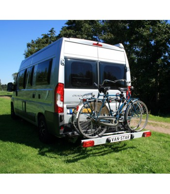 Van-Star, swing away bike carrier for van conversions