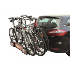 Bike carrier for on the towbar