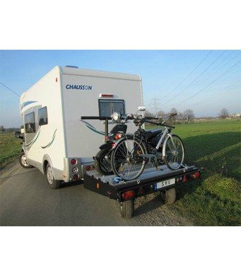 optional kit for transporting 2 bikes on space extender